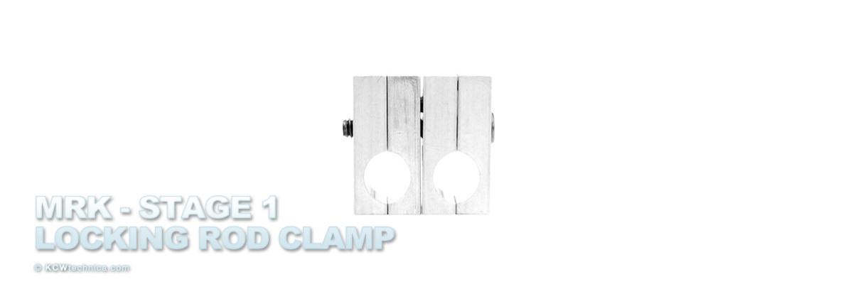 MRK (Modular Rigging Kit) – Basic : Locking Rod Clamps 15mm – Gen 2 – Pair  $75.00